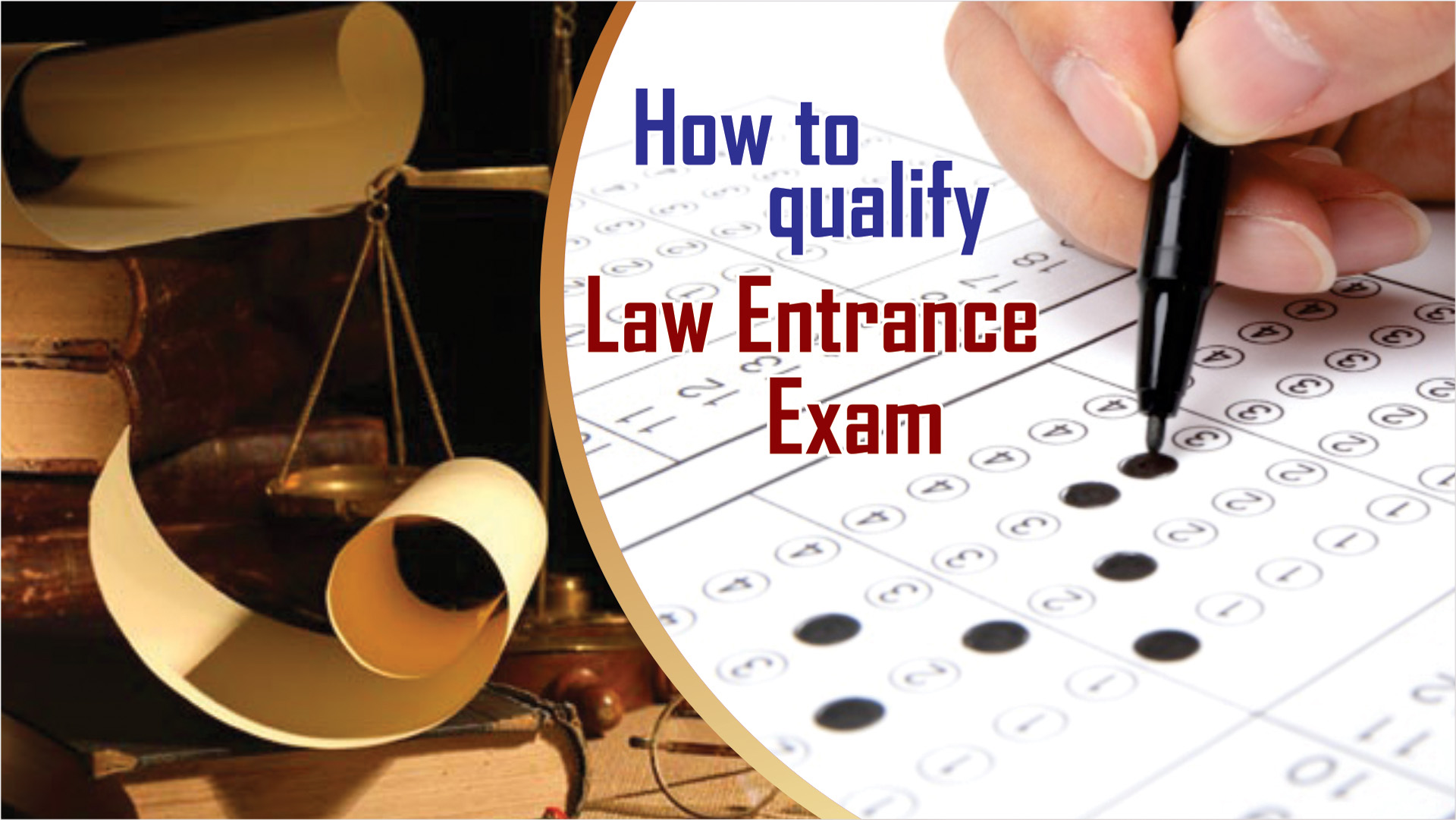 how to qualify law entrance exam